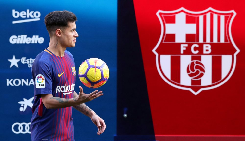 Agent Provides Update On Coutinho's Future Amid Liverpool And PSG Links