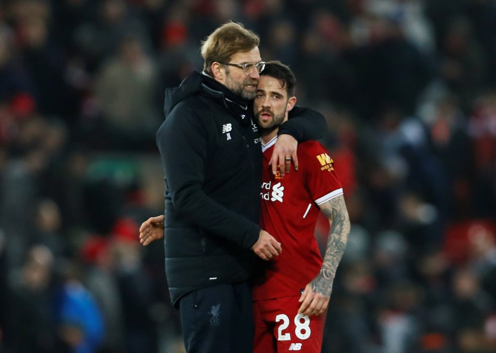 Jurgen Klopp full of praise for 'wonderful' Danny Ings