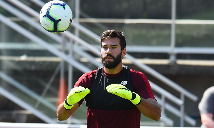 Liverpool fans thrilled as Alisson set for Reds debut