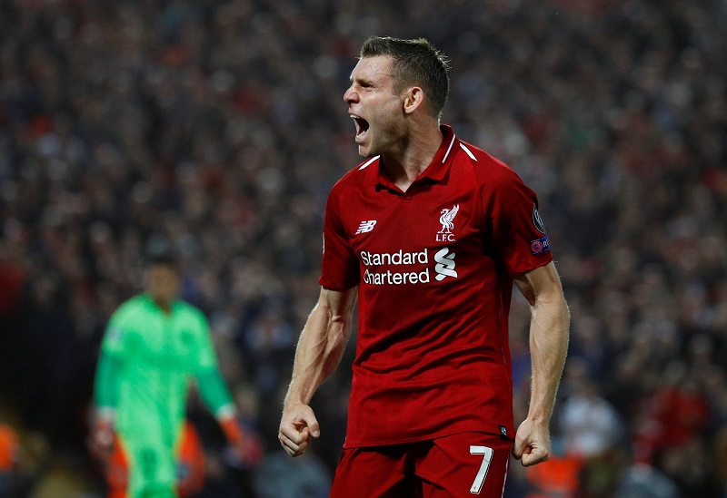 'Embarrassing To Watch' – Liverpool Fans Back Milner's Veiled Criticism Of PSG Superstar