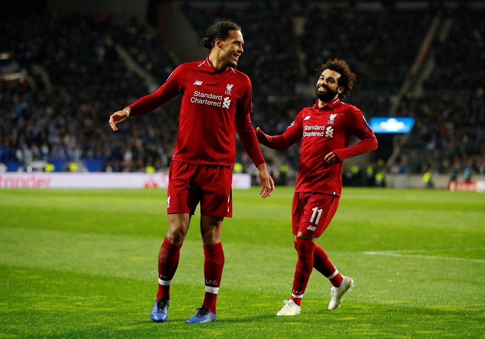Salah Warns Van Dijk After Liverpool Defender Is Handed PFA Player Of The Year Award