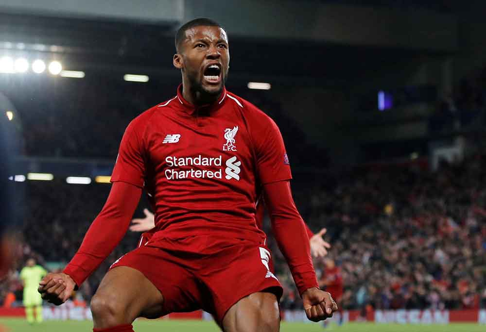 Wijnaldum To Start, Milner To Drop Out: Liverpool's Predicted Line Up To Face Chelsea