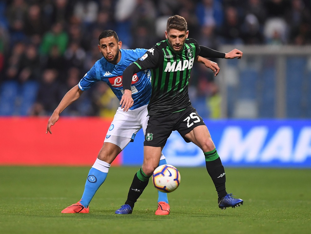 Italian International Berardi Issues 'Come And Get Me' Plea To Liverpool