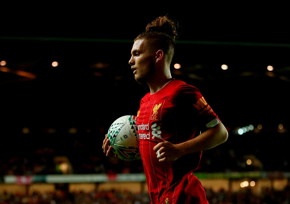 'Sky's The Limit With This Lad' 'What A Goal' Fans Hail Liverpool Starlet After He Scores A Stunner Out On Loan