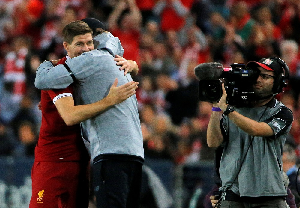Gerrard Believes Klopp Already Knows When He Will Be Leaving Liverpool