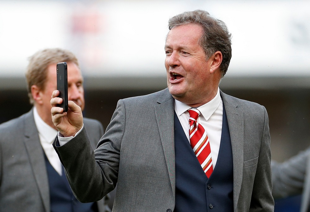 'Heartbreaking For Liverpool' Piers Morgan Makes Prediction About Coronavirus's Impact On The Premier League
