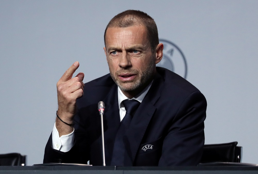 UEFA President Confirms Liverpool Will Be Handed The Title 'One Way Or Another'